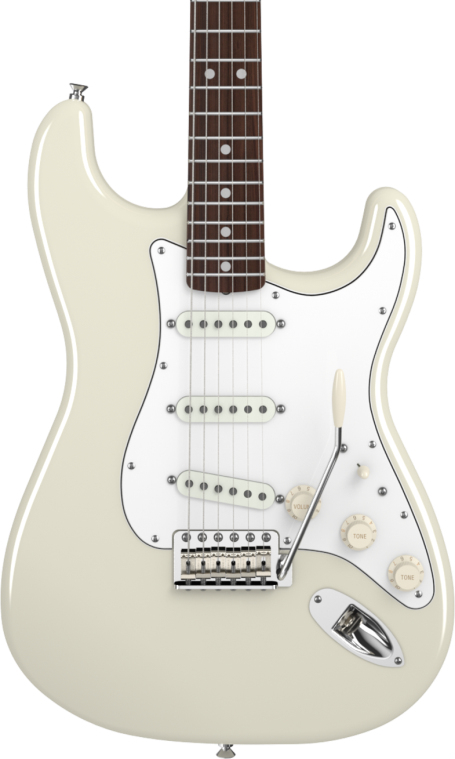 SOLD FENDER AMERICAN VINTAGE 65 STRATOCASTER OLYMPIC WHITE