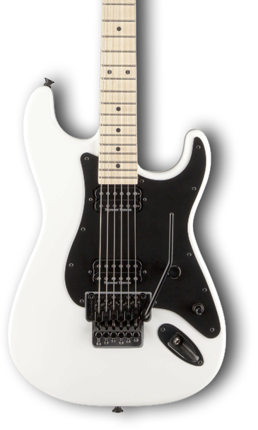 SOLD CHARVEL PRO MOD SOCAL 1 SNOW WHITE