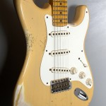 SOLD C.SHOP 2014 56 HEAVY RELIC STRATOCASTER NOCASTER BLONDE