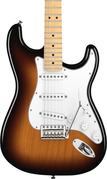 SOLD FENDER AMERICAN SPECIAL SSS STRATOCASTER