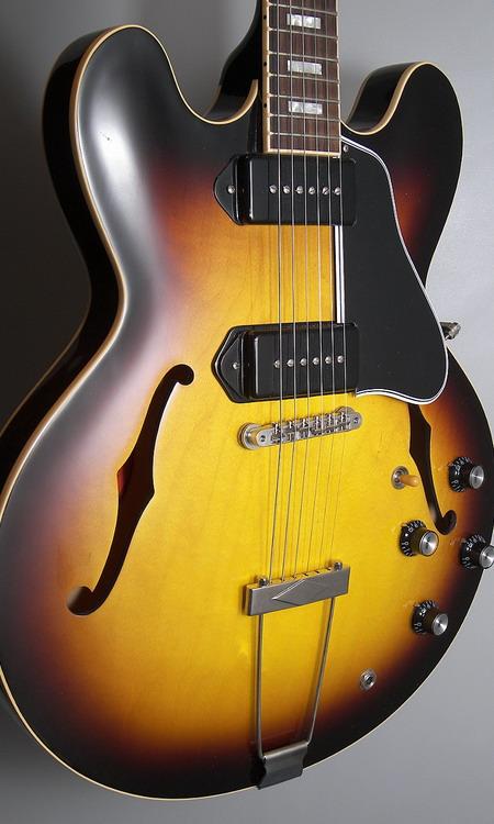 sold gibson custom es 330 long neck gbl guitars. Black Bedroom Furniture Sets. Home Design Ideas
