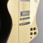 SOLD GIBSON FIREBIRD V 2010 UPRGRADED WITH LOLLAR PICKUPS PROFESSIONALLY AGED