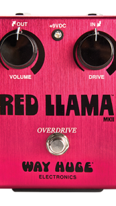 WAY HUGE RED LLAMA DISTORTION
