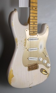 C.SHOP 2014 LIMITED EDITION 54 STRAT DIRTY WHITE BLONDE