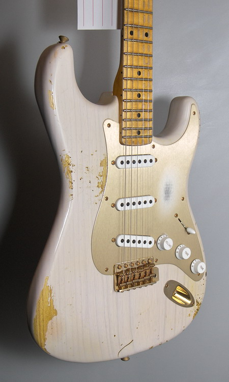 SOLD C.SHOP 2014 LIMITED EDITION 54 STRAT DIRTY WHITE BLONDE