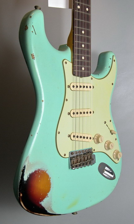 SOLD C.SHOP NAMM 2014 1960 HEAVY RELIC STRATOCASTER