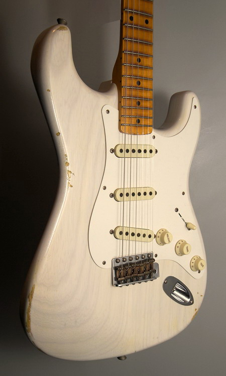 SOLD C. SHOP 2015 T.MACHINE 1957 STRATOCASTER RELIC