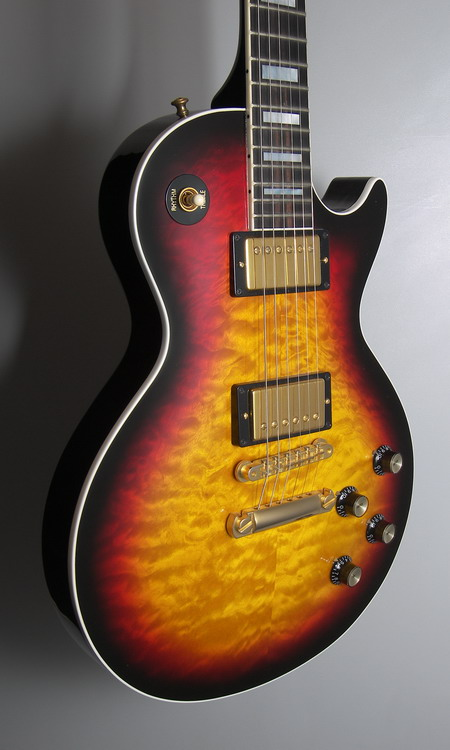 SOLD GIBSON LES PAUL CUSTOM 1968 QUILTED CHAMBERED