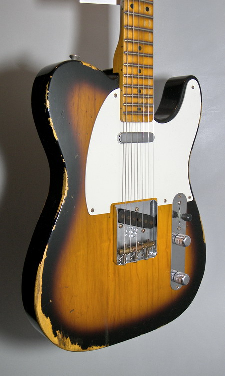 SOLD C.SHOP 2015 52 HEAVY RELIC TELECASTER