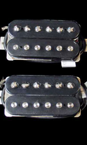LINDY FRALIN HUMBUCKER HIGH OUTPUT SET BLACK 3 C
