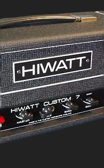 SOLD HIWATT CUSTOM 7 HEAD