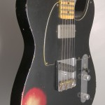 SOLD C.SHOP SPECIAL EDITION 52 HS TELECASTER BLACK OVER CANDY APPLE RED