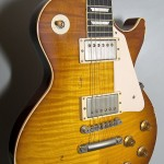 SOLD GIBSON 1958 HEAVY AGED LES PAUL H.PICKED 2014