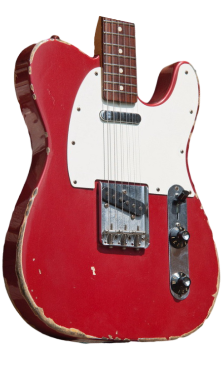 SOLD C.SHOP MUDDY WATERS TRIBUTE TELECASTER | Gbl Guitars