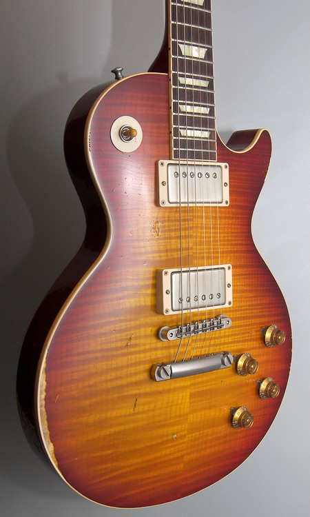 SOLD LES PAUL HISTORIC 59 REISSUE HEAVY AGED HAND PICKED 2014