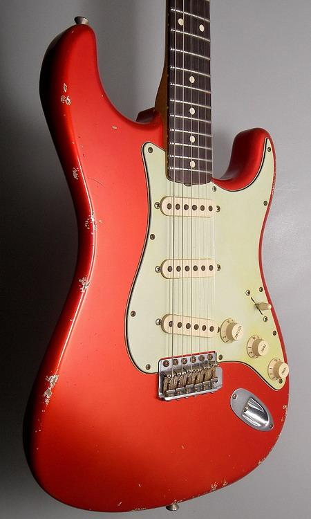 SOLD C.SHOP 2008 SPECIAL RUN 60 Stratocaster® Relic® CANDY T