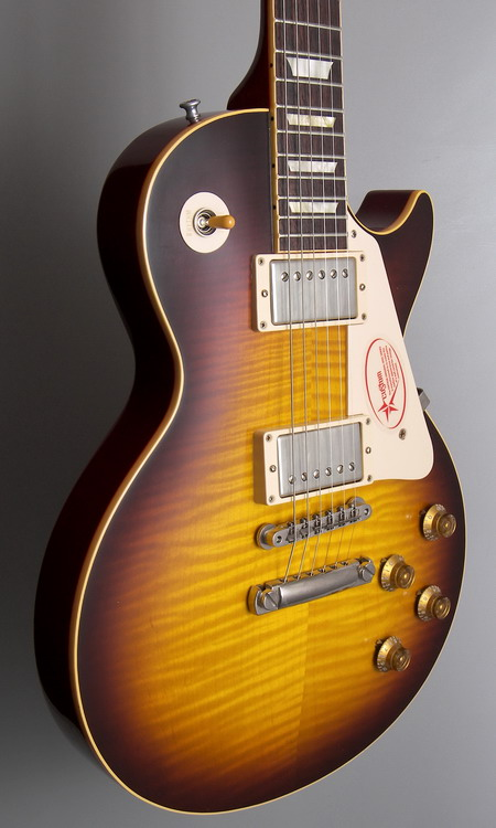 SOLD GIBSON LES PAUL HISTORIC 59 VOS REISSUE 2007