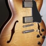 SOLD GIBSON 2011 ES 335 LIGHT BURST FRALIN PAF PICKUPS