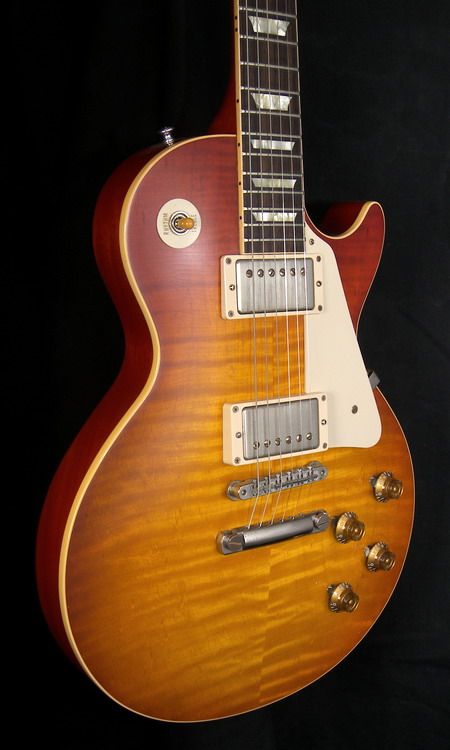 SOLD GIBSON LP 59 REISSUE AGED BEAUTY OF THE BURST PAGE 93