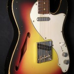 SOLD REBEL RELIC 69 THINLINE SPRUCE TOP