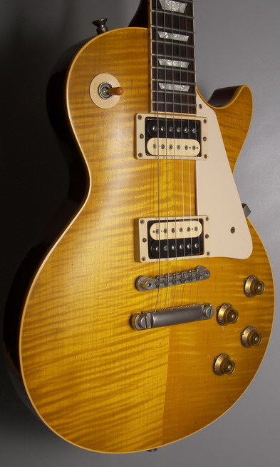 SOLD GIBSON LES PAUL HISTORIC 59 REISSUE 2000 TOM HOLMES PICKUPS