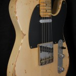 SOLD C.SHOP 100 YEARS OLD PINE PRO TELECASTER AGED BY SHANGRI LAB