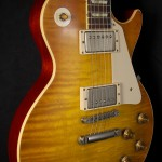SOLD GIBSON 2014 1958 L.PAUL REISSUE FLAMED
