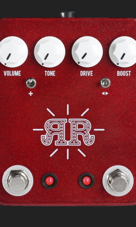 JHS  RUBY RED OVERDRIVE/FUZZ/BOOST