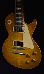 GIBSON 2015 HISTORIC SELECT 1958 REISSUE DOUBLE DIRTY LEMON LTD