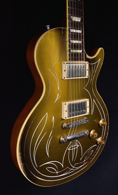 GIBSON BILLY GIBBONS PINSTRIPE AGED & SIGNED