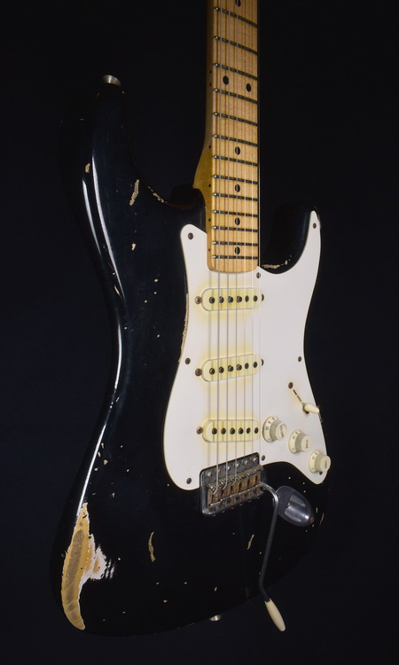 SOLD C.SHOP 1955 HEAVY RELIC STRAT JOHN CRUZ MASTERBUILT