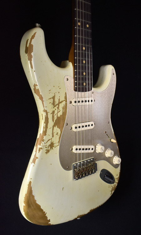 """SOLD C.SHOP 2017 59 HEAVY RELIC STRATOCASTER """"30th ANNIVERSARY"""" """"ROASTED"""" LTD"""