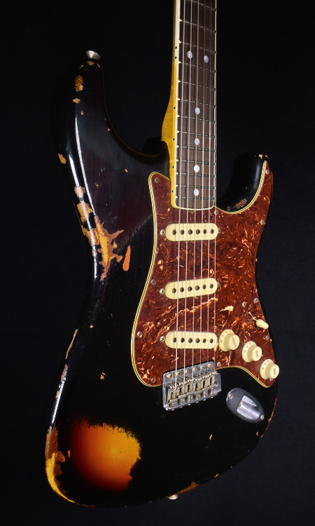 SOLD C.SHOP 60′  BOUND NECK STRATOCASTER 2016 LIMITED EDITION
