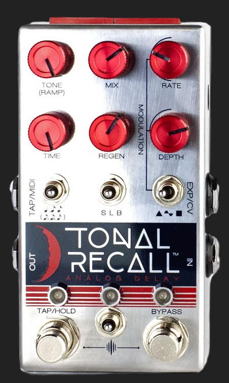 CHASE BLISS AUDIO TONAL RECALL RED KNOB