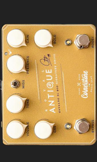 CORNERSTONEGEAR ROYAL ANTIQUE O.DI DIO SIGNATURE