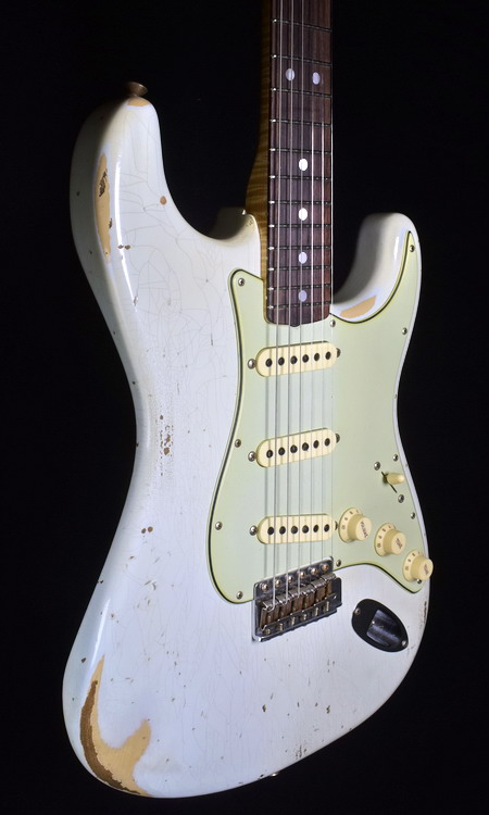 """SOLD C.SHOP 2018 """"MASTER DESIGN"""" 65 RELIC STRAT BY DALE WILSON"""