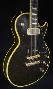 """GIBSON ROBBY KRIEGER """"LA WOMAN"""" AGED & SIGNED # 30"""