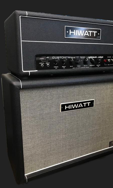 SOLD HIWATT DG 103 + SPEAKER 2 X 12″ FANE EQUIPPED