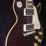 SOLD GIBSON CUSTOM 1954 LES PAUL OXBLOOD AGED