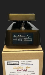 SOLD SHIN'S MUSIC GOLDEN AGE WAH LIMITED EDITION