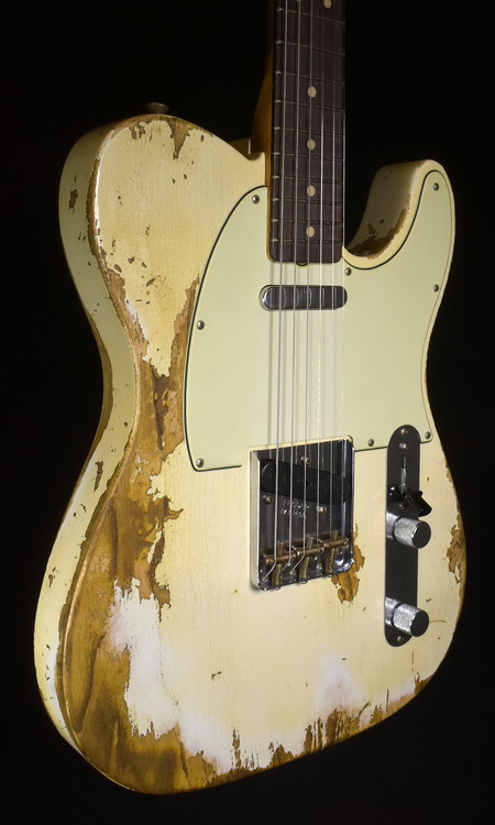SOLD C.SHOP 2019 1963 SUPER HEAVY RELIC TELE LIMITED EDITION