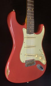 "SOLD C.SHOP 2020 60 RELIC STRATOCASTER ""30th ANNIVERSARY"" REPLICA"