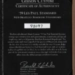 GIBSON-LP59-BRAZ2018-PC-COA