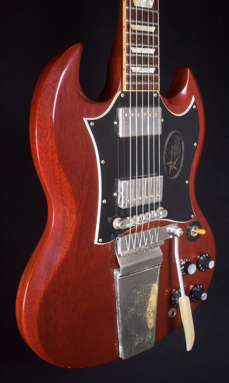 GIBSON CUSTOM ROBBY KRIEGER 1967 SG VOS ELECTRIC GUITAR
