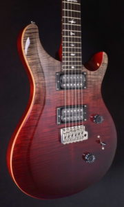 "PRS SE LTD 2020 CUSTOM 24 ""FADED"" CHARCOAL CHERRY FADE"