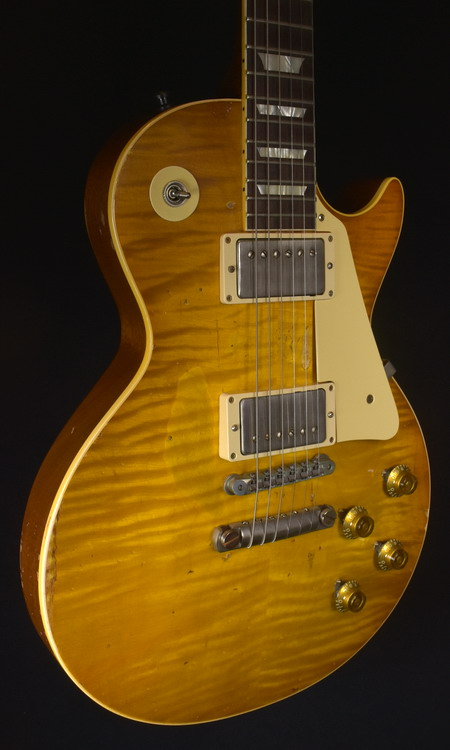 GIBSON 59 LES PAUL MIKE MCCREADY AGED & SIGNED