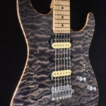 SOLD JOHN SUHR STANDARD QUILTED HSH MAPLE NECK