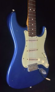 C.SHOP NAMM 2004 1960 RELIC STRAT MATCHING HEADSTOCK WITH M.FOLEY 61 M.SCHOFIELD SIG. PICKUPS
