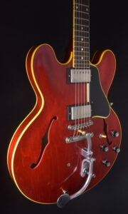 "GIBSON NASHVILLE 1961 JERRY KENNEDY 335 ""PRETTY WOMAN"" JK # 12"