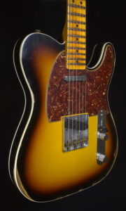 C.SHOP 2021 1965 TELECASTER RELIC MAPLE CAP CUSTOM ORDER